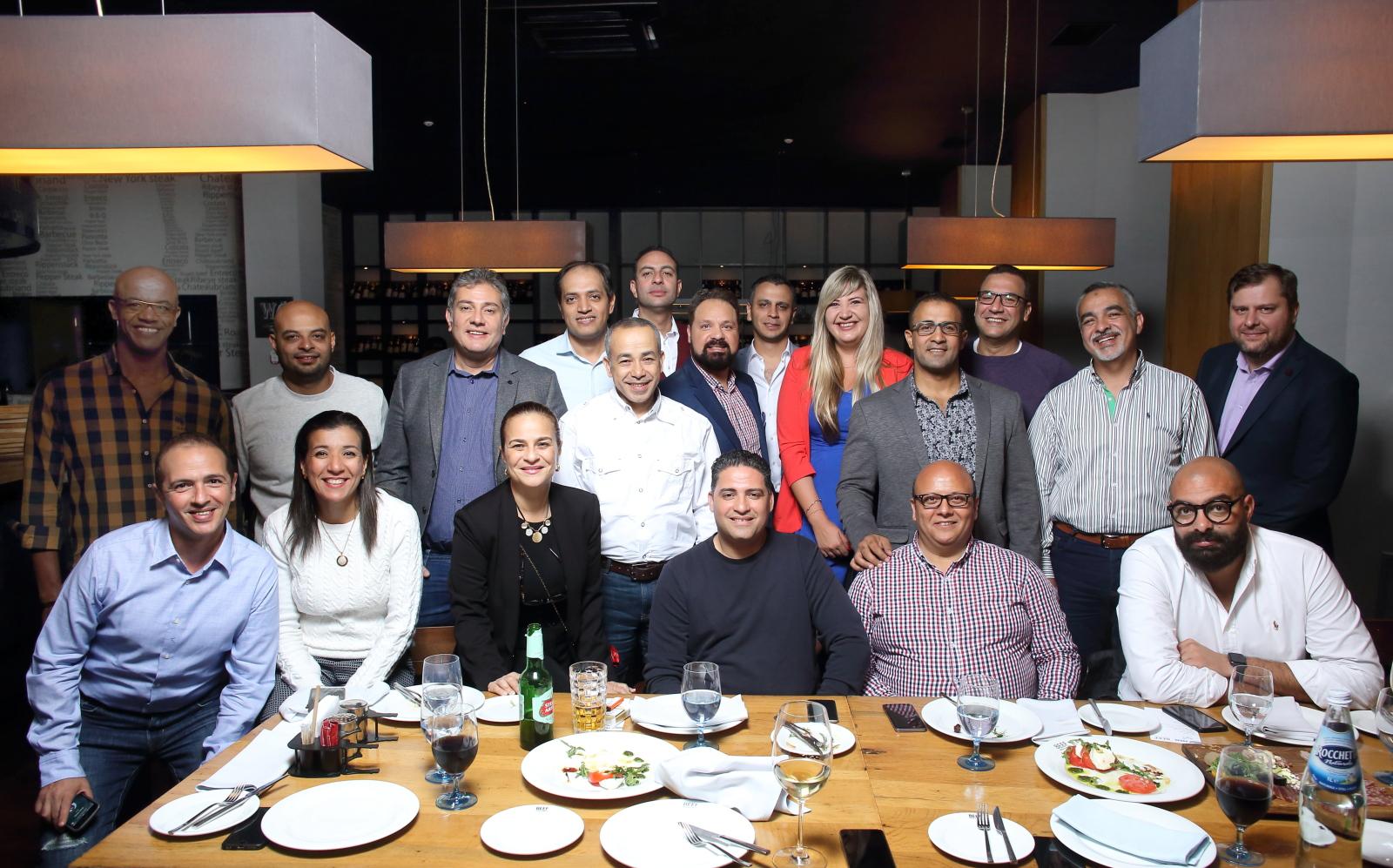 Бизнес-ужин с Египетскими партнерами 03.10.2019
